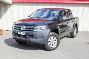 2011 Volkswagen Amarok Black Manual Utility Dandenong Greater Dandenong Preview