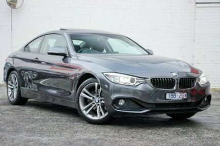 2013 BMW 420d F32 Sport Line Grey 8 Speed Sports Automatic Coupe