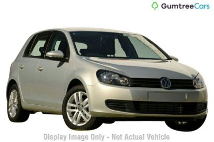 2011 Volkswagen Golf VI MY11 103TDI DSG Comfortline Silver 6 Speed Sports Automatic Dual Clutch