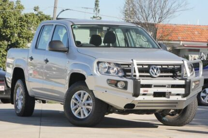 2016 Volkswagen Amarok 2H MY16 TDI400 4MOT Core Silver 6 Speed Manual Utility