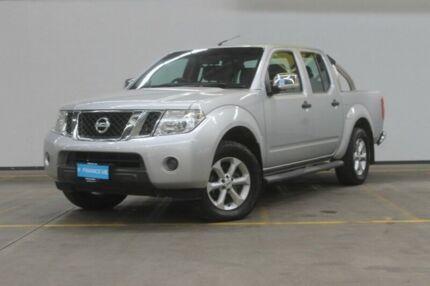 2011 Nissan Navara D40 MY11 ST-X Silver 6 Speed Manual Utility