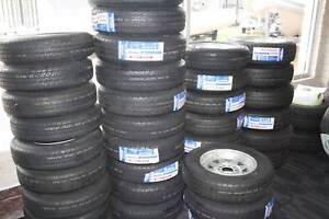 "Trailer Tyres Light truck 12"", 13"", 14"" Galvanised Rims from $120"