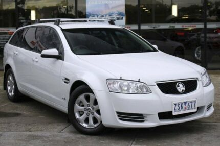 2013 Holden Commodore VE II MY12.5 Omega Sportwagon Heron White 6 Speed Sports Automatic Wagon