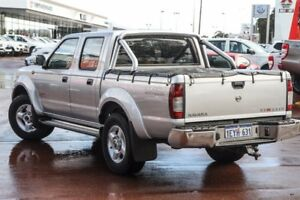 2010 Nissan Navara D22 MY2010 ST-R Silver 5 Speed Manual Utility Wilson Canning Area Preview
