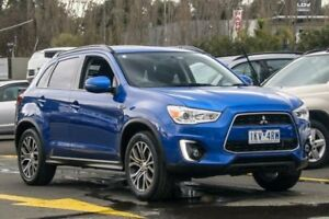 2015 Mitsubishi ASX XB MY15.5 LS 2WD Blue 6 Speed Constant Variable Wagon Ringwood East Maroondah Area Preview