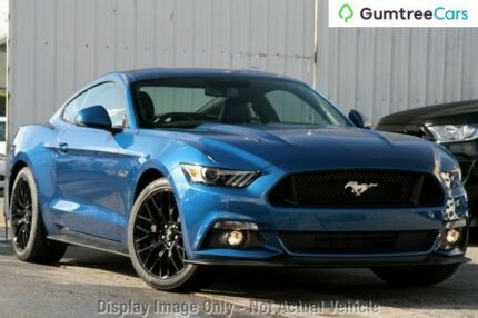 2017 Ford Mustang FM MY17 GT Fastback Lightning Blue 6 Speed Manual Fastback
