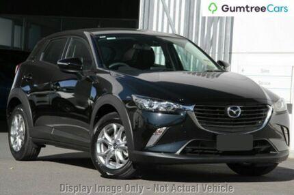 2018 Mazda CX-3 DK2W7A Maxx SKYACTIV-Drive Jet Black 6 Speed Sports Automatic Wagon