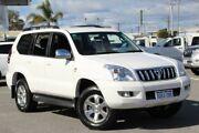 2009 Toyota Landcruiser Prado White Automatic Wagon St James Victoria Park Area Preview