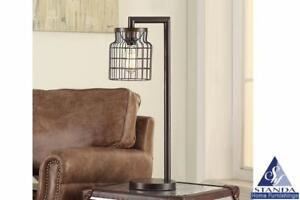 Antique Bronze Table Lamp