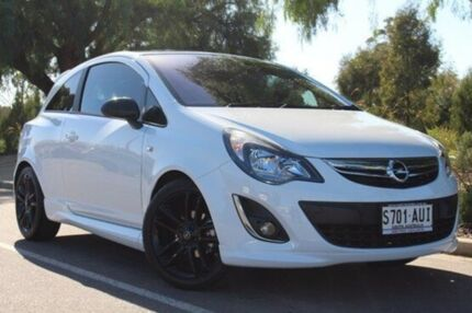 2012 Opel Corsa CO Colour Edition White 4 Speed Automatic Hatchback Thebarton West Torrens Area Preview