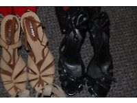 MENS DRESS UP SHOES. SIZE 7/8. COLLECTION FROM WHITBY. HAVING A BIG CLEAR OUT. £8 THE LOT. CHEAP!!