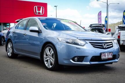2011 Honda Accord Euro CU MY11 Luxury Celestial Blue 5 Speed Automatic Sedan