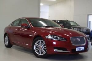 2014 Jaguar XF X250 MY14 Luxury Red 8 Speed Sports Automatic Sedan Myaree Melville Area Preview