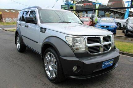 2008 Dodge Nitro KA MY08 SX Silver 5 Speed Sports Automatic Wagon West Footscray Maribyrnong Area Preview