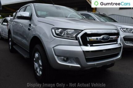 2017 Ford Ranger PX MkII XLT Double Cab Silver 6 Speed Sports Automatic Utility Osborne Park Stirling Area Preview