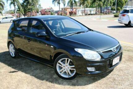 2007 Hyundai i30 FD SR Black 5 Speed Manual Hatchback