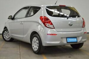2014 Hyundai i20 PB MY15 Active Silver 4 Speed Automatic Hatchback