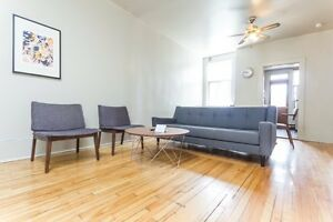 McGill, Downtown- FULLY FURNISHED - 4-9 MONTH LEASE - SEPT-MAY #