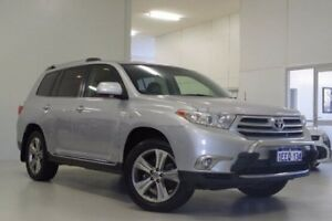 2013 Toyota Kluger GSU40R MY12 KX-S 2WD Silver 5 Speed Sports Automatic Wagon Myaree Melville Area Preview
