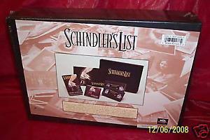 Schindlers list box set