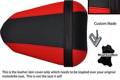 BLACK AND RED CUSTOM 08 12 FITS <em>YAMAHA</em> 600 YZF R6 REAR SEAT COVER