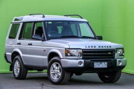 2003 Land Rover Discovery 03MY Silver 4 Speed Automatic Wagon Ringwood East Maroondah Area Preview