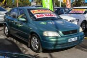 2000 Holden Astra TS MY2001 CD Green 5 Speed Manual Hatchback Ringwood East Maroondah Area Preview