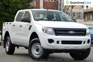 2014 Ford Ranger PX XL Double Cab White 6 Speed Sports Automatic Utility Ringwood East Maroondah Area Preview