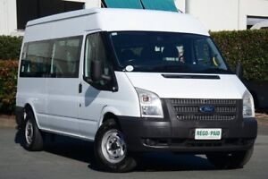2012 Ford Transit VM Mid Roof Frozen White 6 Speed Manual Bus Acacia Ridge Brisbane South West Preview