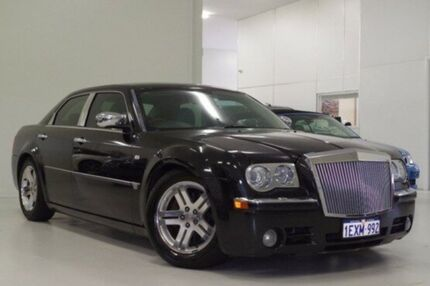 2006 Chrysler 300C MY2006 HEMI Black 5 Speed Sports Automatic Sedan Myaree Melville Area Preview
