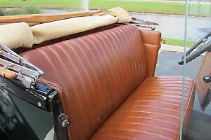 1928-29 Ford Model A Roadster Seats, etc