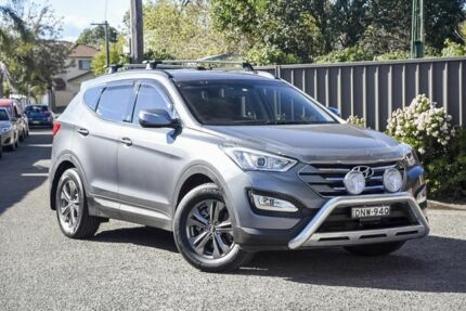 2013 Hyundai Santa Fe DM MY13 Active Grey 6 Speed Sports Automatic Wagon