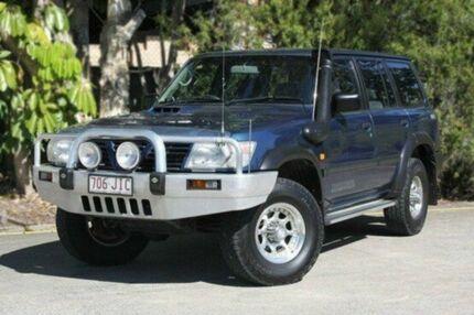 2000 Nissan Patrol GU II ST Blue 4 Speed Automatic Wagon