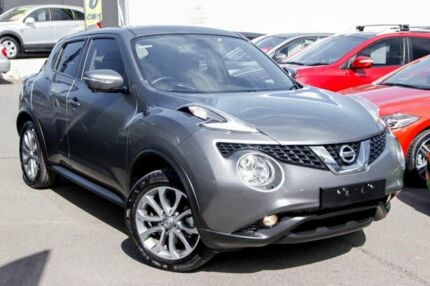 2016 Nissan Juke F15 Series 2 Ti-S X-tronic AWD Grey 1 Speed Constant Variable Hatchback