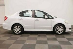 2010 Suzuki SX4 GYC MY10 S White 6 Speed Manual Sedan