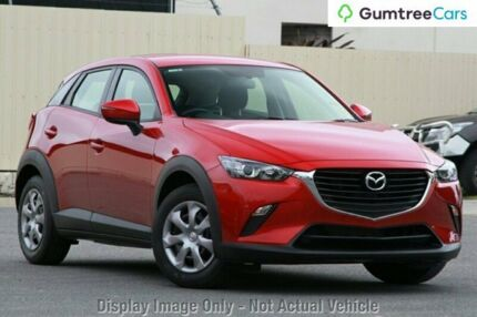 2017 Mazda CX-3 DK2W7A Neo SKYACTIV-Drive Soul Red 6 Speed Sports Automatic Wagon