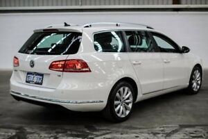 2014 Volkswagen Passat Type 3C MY14.5 118TSI DSG White 7 Speed Sports Automatic Dual Clutch Wagon