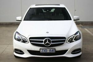 2013 Mercedes-Benz E250 CDI W212 MY13 7G-Tronic + White 7 Speed Sports Automatic Sedan