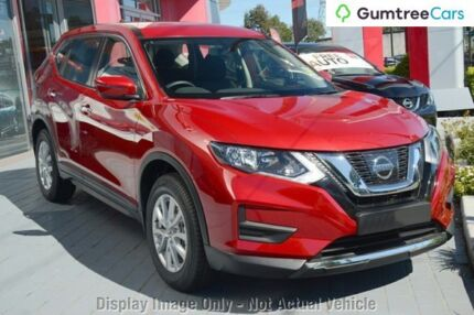 2017 Nissan X-Trail Ruby Red Continuous Variable
