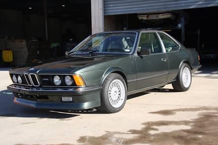 1985 BMW E24 M635CSI (M6)