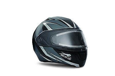 Arctic Cat Purple Modular Snowmobile Helmet w// Electric Shield S M L 5292-112
