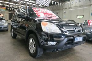 2002 Honda CR-V MY02 (4x4) Sport 5 Speed Manual Wagon Mordialloc Kingston Area Preview