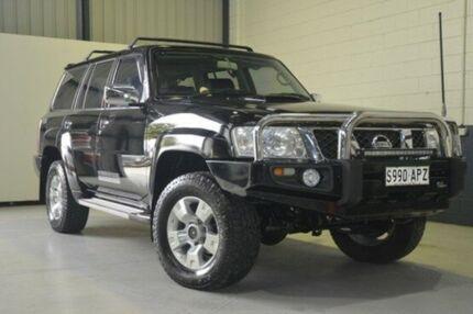 2012 Nissan Patrol Y61 GU 8 ST Black 5 Speed Manual Wagon Blair Athol Port Adelaide Area Preview