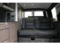 VW T4, T5 Transporter, vivaro, trafik Rock and roll bed with belts, headrests.