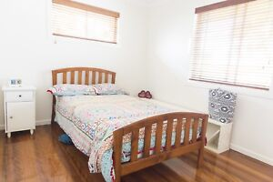 King single timber bed Coorparoo Brisbane South East Preview