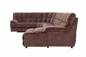 Surrey Corner Lounge with Recliner, Chaise, Innerspring Sofabed