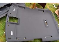 Audi A3 S3 S LINE 3 Door Black Roof Lining Head Liner BLACK EDITION