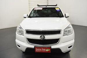 2014 Holden Colorado RG MY14 LX Crew Cab Summit White Sports Automatic Utility
