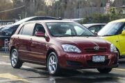 2006 Toyota Corolla ZZE122R 5Y Ascent Sport Burgundy 4 Speed Automatic Hatchback Ringwood East Maroondah Area Preview