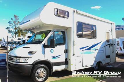 2006 Winnebago Leisure Seeker IVECO, Seats & Sleeps 5 - U3537
